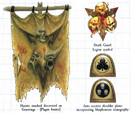 Death Guard Logo Death Guard Havocs Are Exactly